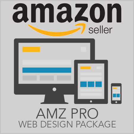 Amazon Seller Professional Web Site Design