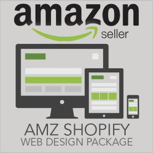 Amazon Seller Shopify Website Design
